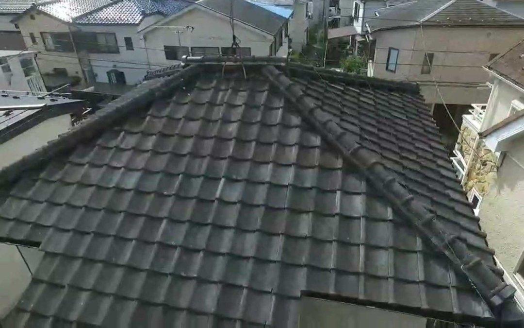 ドローン屋根診断事例1