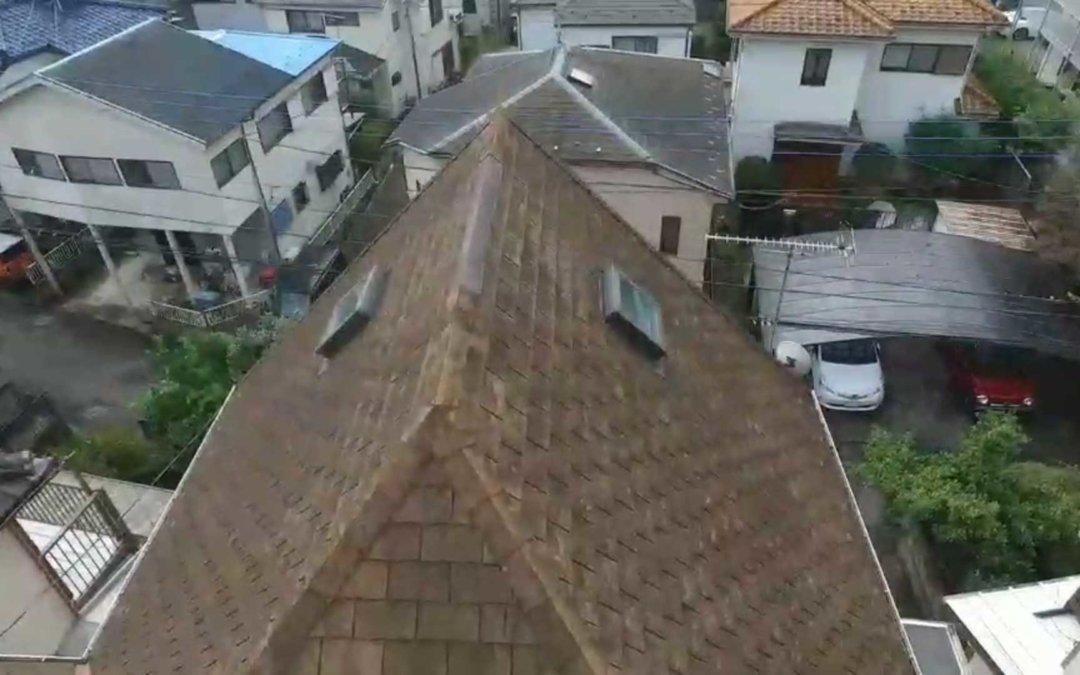 ドローン屋根診断事例2